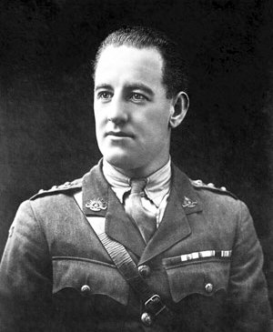 Captain Albert Jacka VC MC - 14th Battalion -survived Pozieres