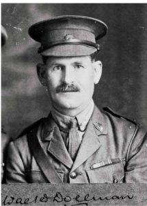 Lt Colonel Dollman 27th Battalion. KIA July 1916