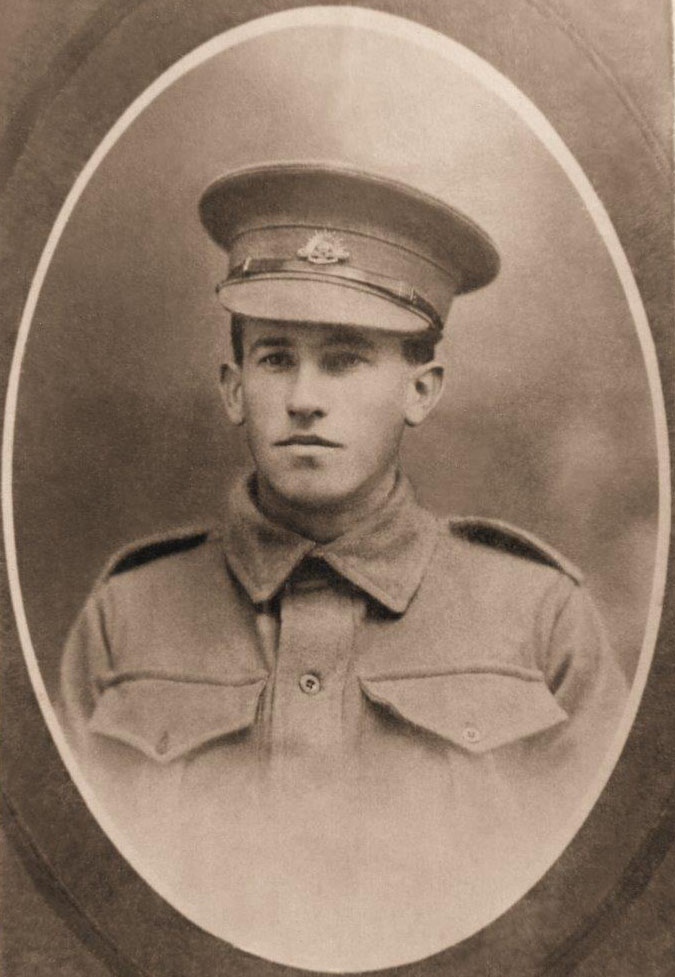 Private Arnold Locke Beattie - 3778 - 20th Battalion - WIA 5 Aug and died 8 Aug 1916
