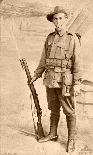 Private Peter Hart Jacobson - Australian Light Horse 136 - 25th Battalion - MIA 29th July 1916