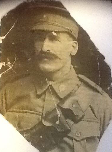 Sapper Walter Purves - 3094 - 5th Field Company Engineers - WIA 25th July & survived