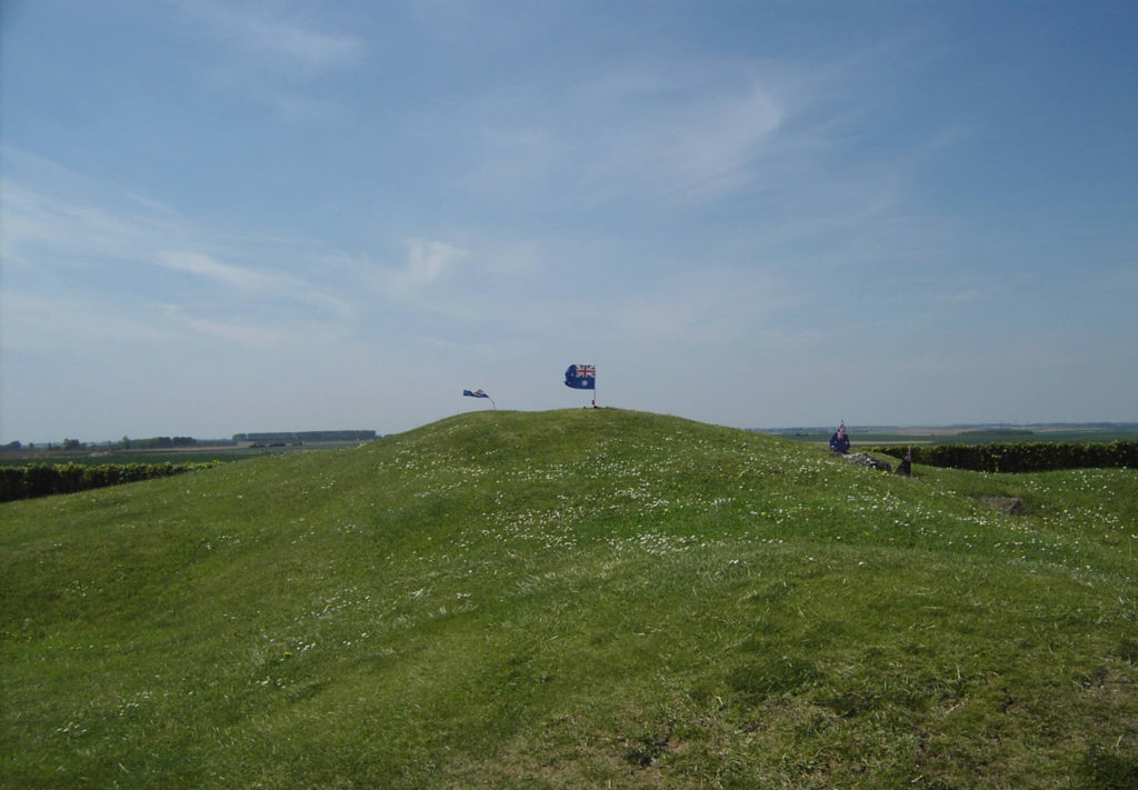 The View of the Windmill site at Pozieres