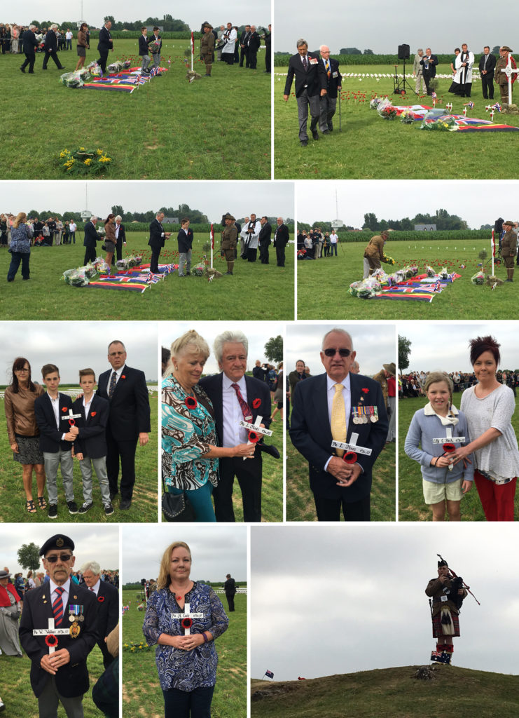 Inauguration of the Pozieres Memorial Park 1