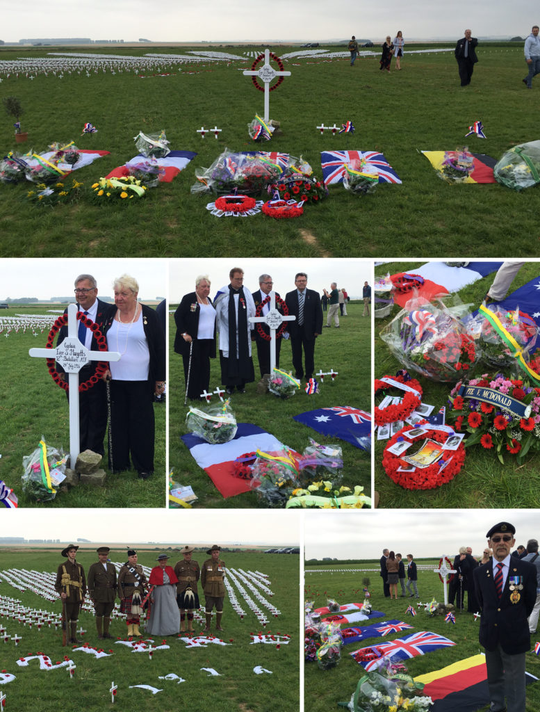 Inauguration of the Pozieres Memorial Park 2